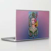 chakra Laptop & iPad Skins featuring Chakra Mandla by Harsh Malik