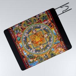 Mandala Buddhist 2 Picnic Blanket