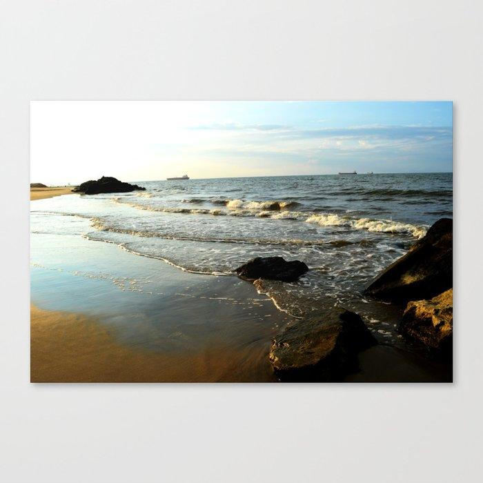 Beach III Canvas Print