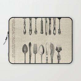 antique cutlery Laptop Sleeve