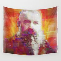monet Wall Tapestries featuring Claude Monet by Steve W Schwartz Art