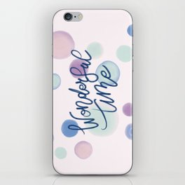 Wonderful Time #society6 #xmas iPhone Skin