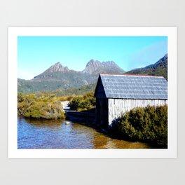 The Boat House Art Print