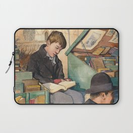 The Bookseller's Son Laptop Sleeve