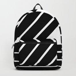 Modern Me Plain Black Backpack