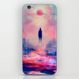 Floating Shadow iPhone Skin