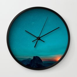 The Sunrises (Color) Wall Clock