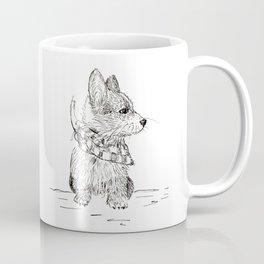 Fancy Corgi Coffee Mug
