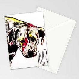 The sadness of streetdogs Stationery Cards