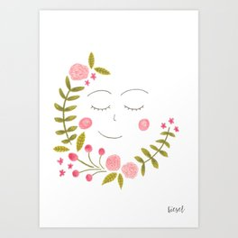 it's all about plants // 1 Art Print