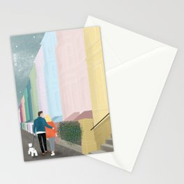 """""""A walk in Notting Hill"""" Stationery Cards"""