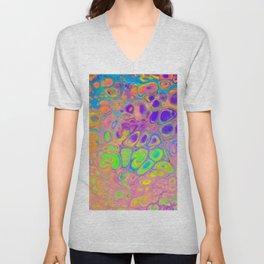 Psychedelic Cells Unisex V-Neck