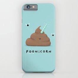 Poonicorn iPhone Case