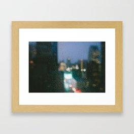 Kaleidoscope Gloom. Framed Art Print
