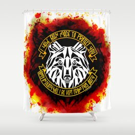Only In Death (Six of Crows) Shower Curtain
