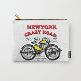 New York Crazy Road Carry-All Pouch