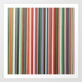 STRIPES 33 Art Print