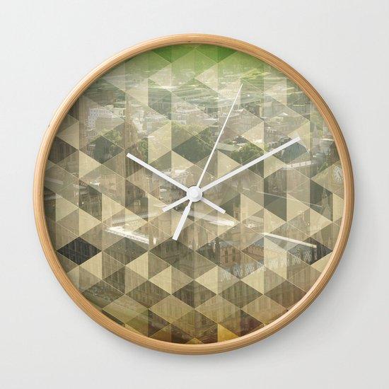 WP pattern Wall Clock