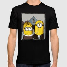 Minion Gothic Mens Fitted Tee Black LARGE