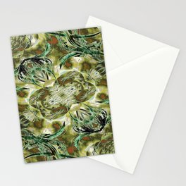 Golden Branches Stationery Cards