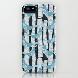 For the Birds and Birch Trees iPhone Case