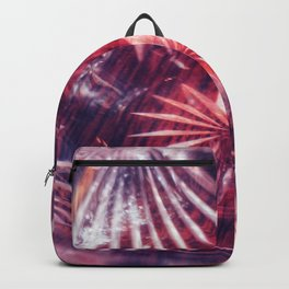 Faded Crystal Flower Backpack
