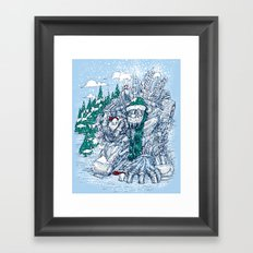 The Snowmaker Framed Art Print