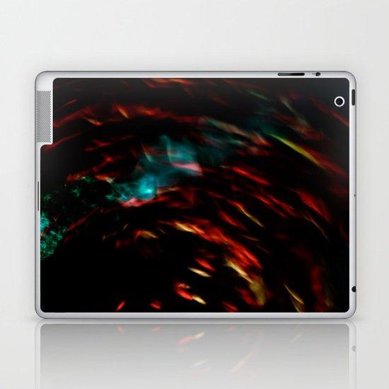 Abstract goldfish Laptop & iPad Skin