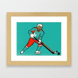 Knuckle-Puck Framed Art Print
