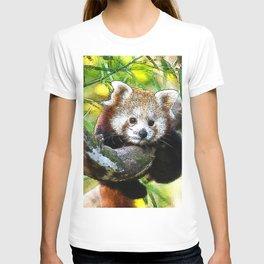 CArt red Panda Baby T-shirt
