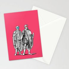 Classic men have a party Stationery Cards