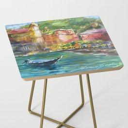 Vernazza, Cinque Terre Italy Side Table