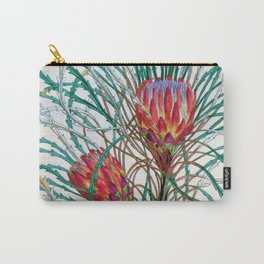 A Protea flower Carry-All Pouch