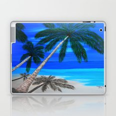 White sand beach  Laptop & iPad Skin