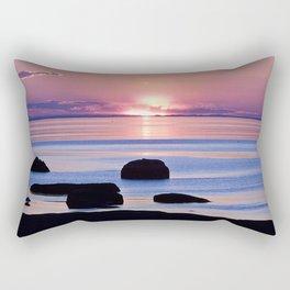 Saint-Lawrence River Sunset Rectangular Pillow