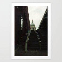 stairway to st. paul Art Print