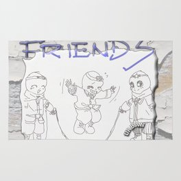 Enjoy Friends Rug