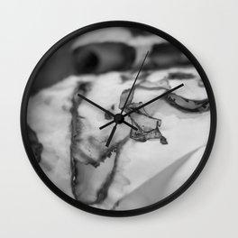Burn 3 Wall Clock