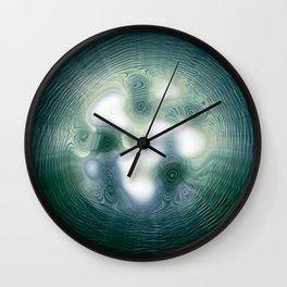 Liquid Gateway Wall Clock