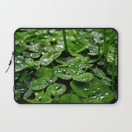Bedazzled clovers Laptop Sleeve