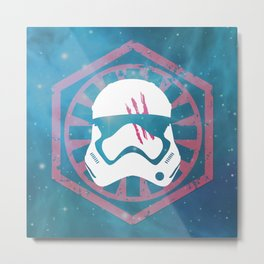 FN-2187 (Finn) and the Blood Smear Metal Print