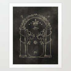 Lord of the Rings: Gates of Moria Art Print
