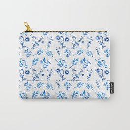 Ceramic Portuguese -Pattern Carry-All Pouch