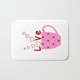 Cup Of Love Bath Mat