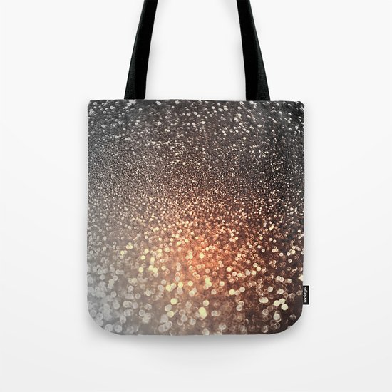 Tortilla brown Glitter effect - Sparkle and Glamour on #Society6 Tote Bag