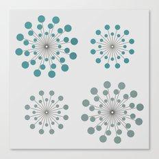 Circles - 9 Canvas Print