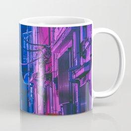 The Neon Alleyway Ghost Coffee Mug