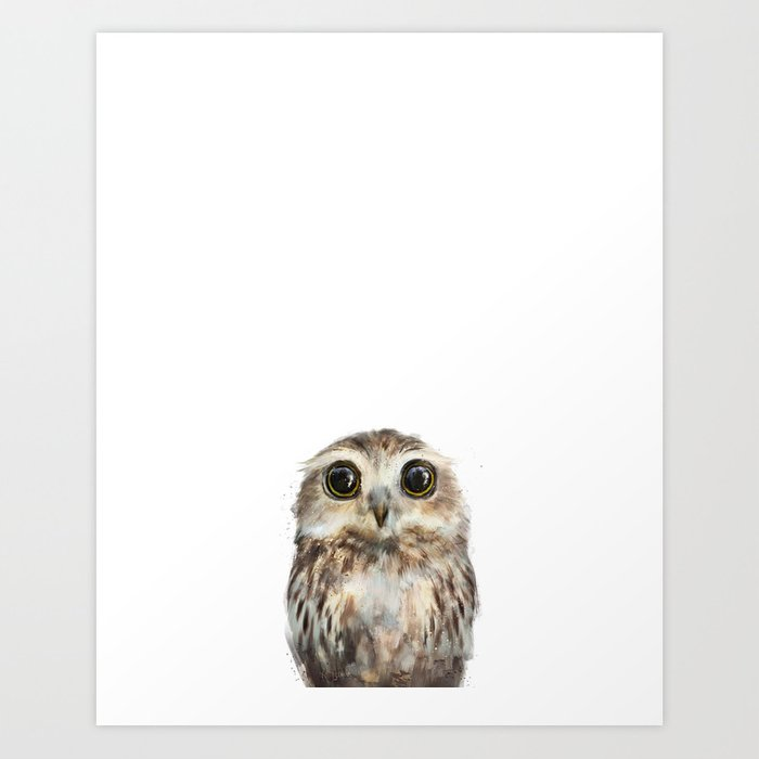 Discover the motif LITTLE OWL by Amy Hamilton as a print at TOPPOSTER