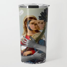 Can't be always like a saint, I have feelings... Travel Mug