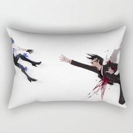 A brief moment Rectangular Pillow